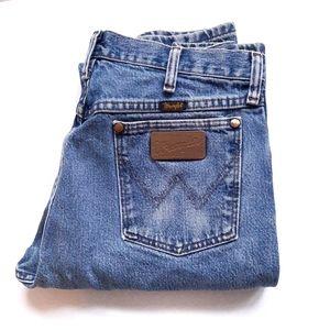 🔥Vintage Wrangler High Waist Distress Jeans 32×38